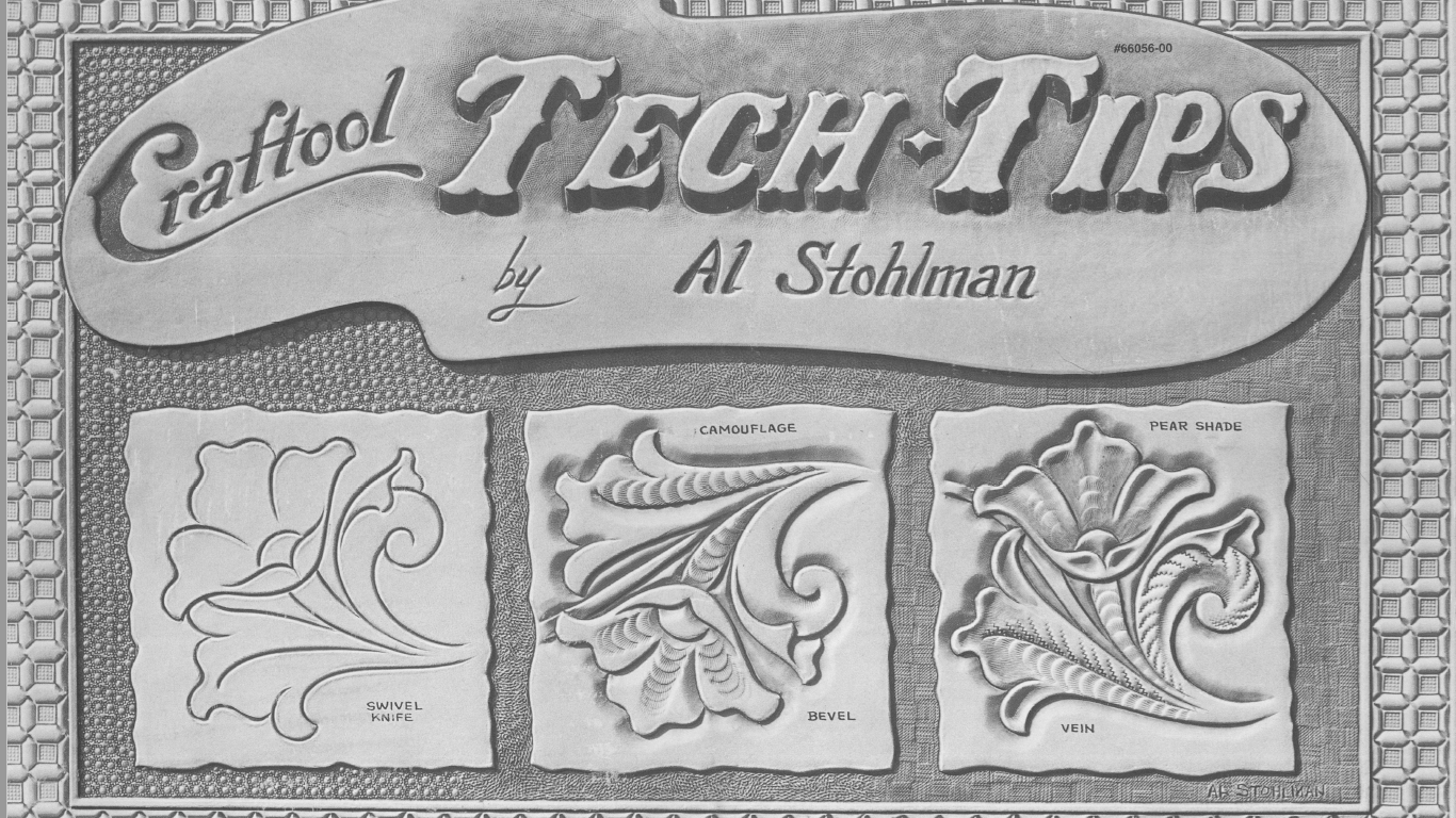 Книга тиснение на коже Al Stohlman - Craftool Tech Tips