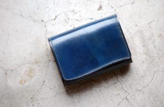 Выкройка миниатюрного кошелька из кожи