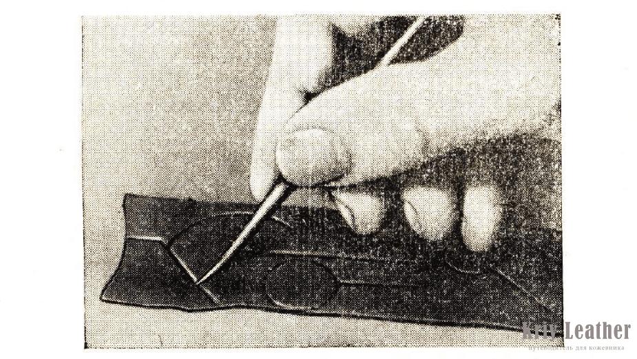 художественная обработка изделий из кожи.