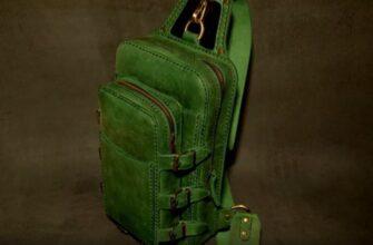 рюкзак из кожи выкройка