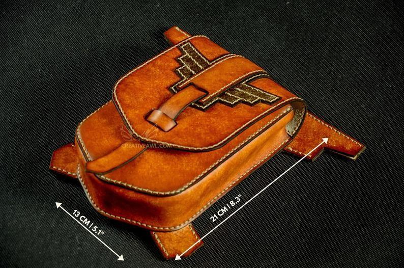 Выкройка, набедренная сумка