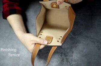Выкройка миниатюрная сумочка