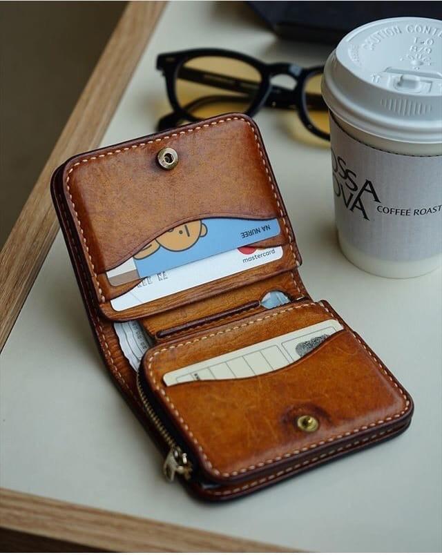 Мужской мини кошелек