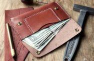 Выкройка кошелек