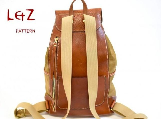 Рюкзак из кожи1