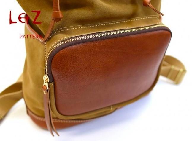 Рюкзак из кожи2