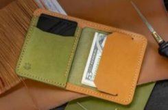 Выкройка компактный кошелек