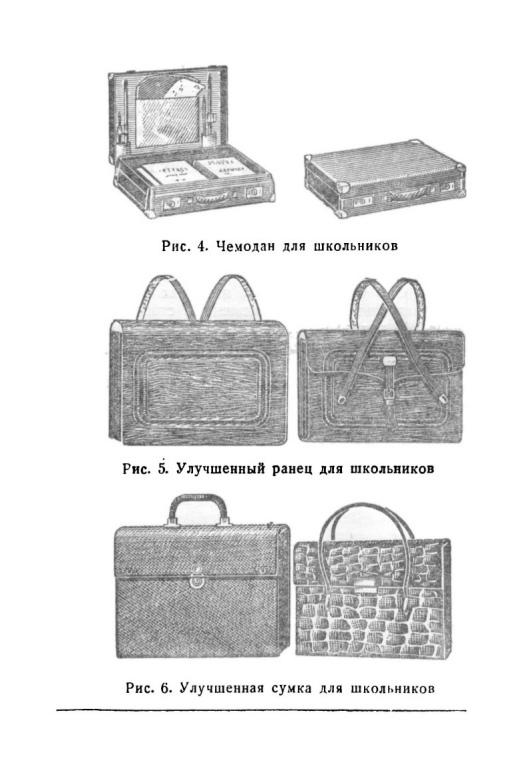 Изготовление рюкзаков, портфелей